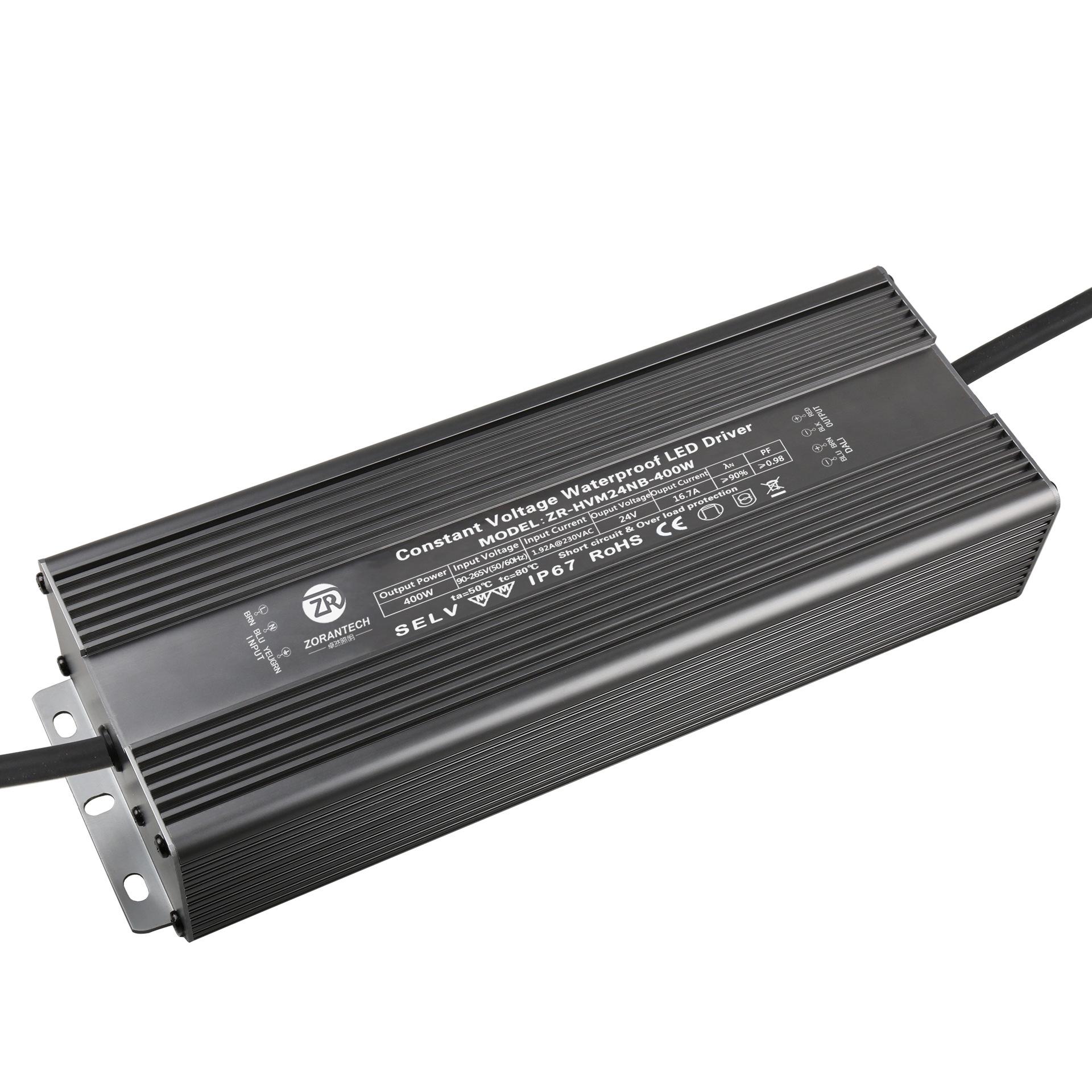 ZORANTECH Bộ nguồn cho đèn LED Bộ điều khiển LED mới cung cấp năng lượng Đèn 400W với điện áp LED kh