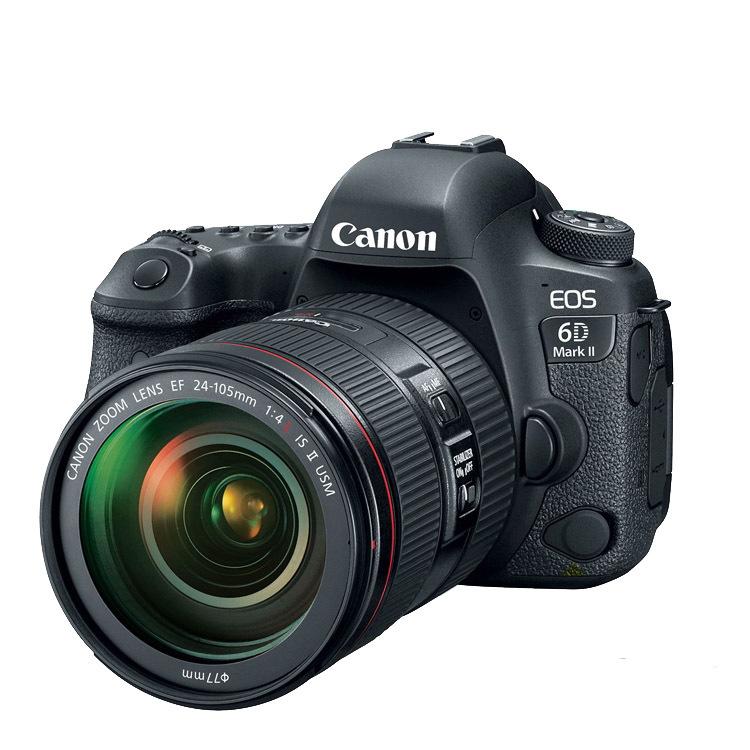 CANON Máy ảnh phản xạ ống kính đơn / Máy ảnh SLR Máy ảnh DSLR full frame 6D2 độc lập 24-105 kit 24-7