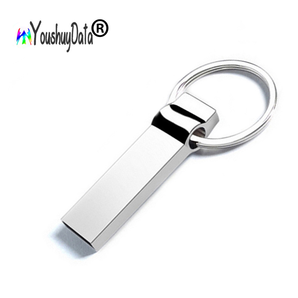 Đĩa U 8g 64g kim loại Vòng chữ U không thấm nước USB2.0 Ổ đĩa flash USB