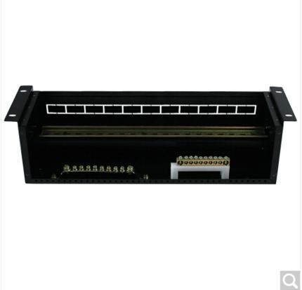 Reddy tủ điện  tủ điều khiển hộp phân phối điện loại giá đơn vị phân phối điện 3U với công tắc hiển