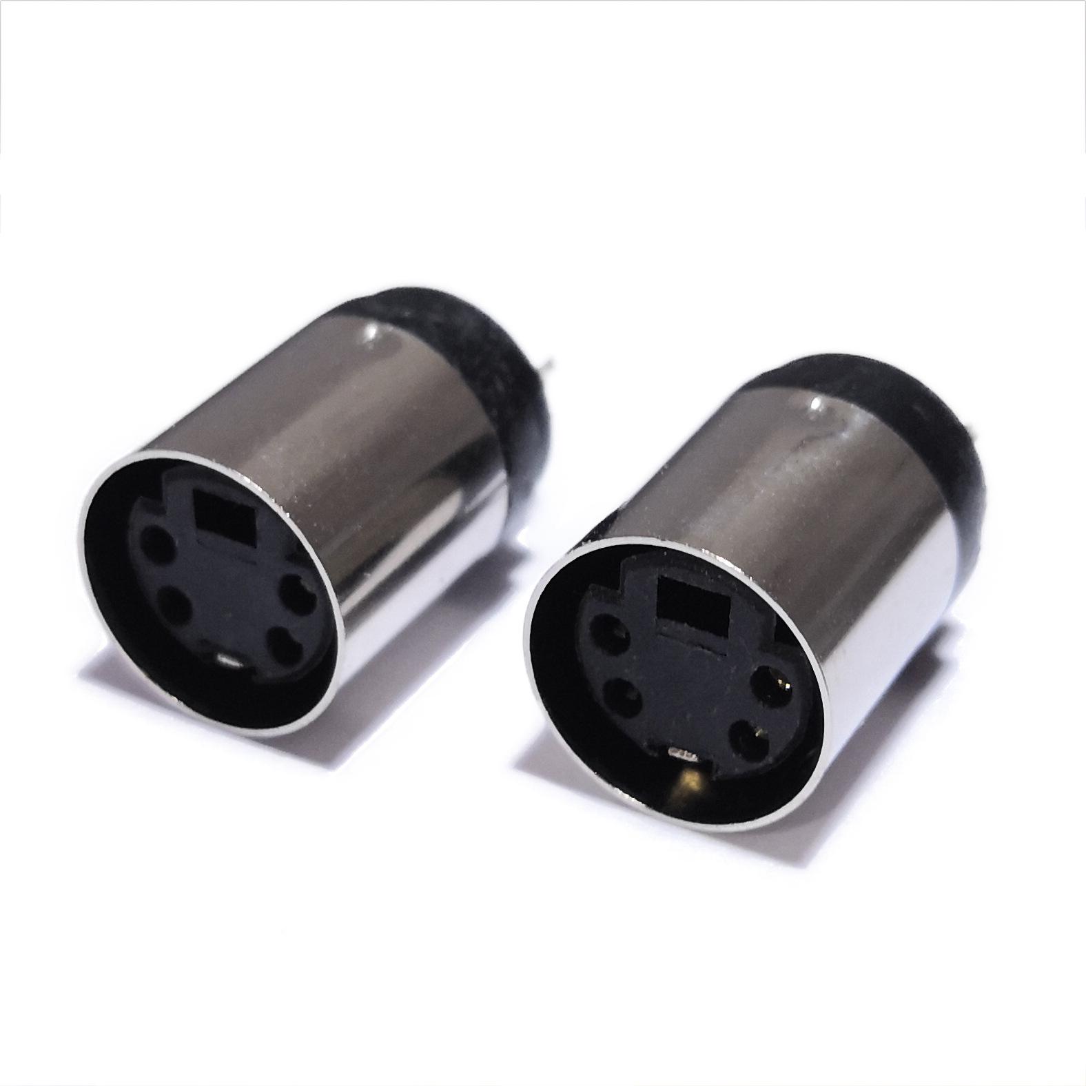 DF Cầu đấu dây Domino Ghế nữ MINIDIN4P S kết nối đầu cuối mini 6P đinh MINI8 pin 5PIN