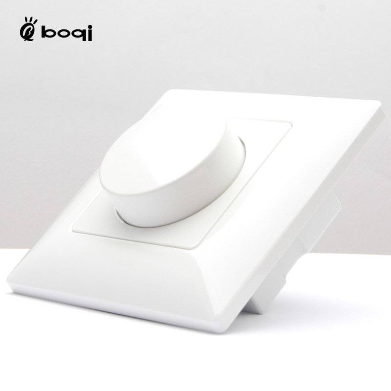 BOQI Công tắc điều chỉnh độ sáng Nhà máy bán hàng trực tiếp 0-10v công suất mờ mờ núm điều chỉnh vô