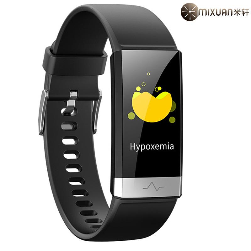 Vòng đeo tay thông minh V19 ECG vòng đeo tay thông minh huyết áp huyết áp theo dõi giấc ngủ thời tra