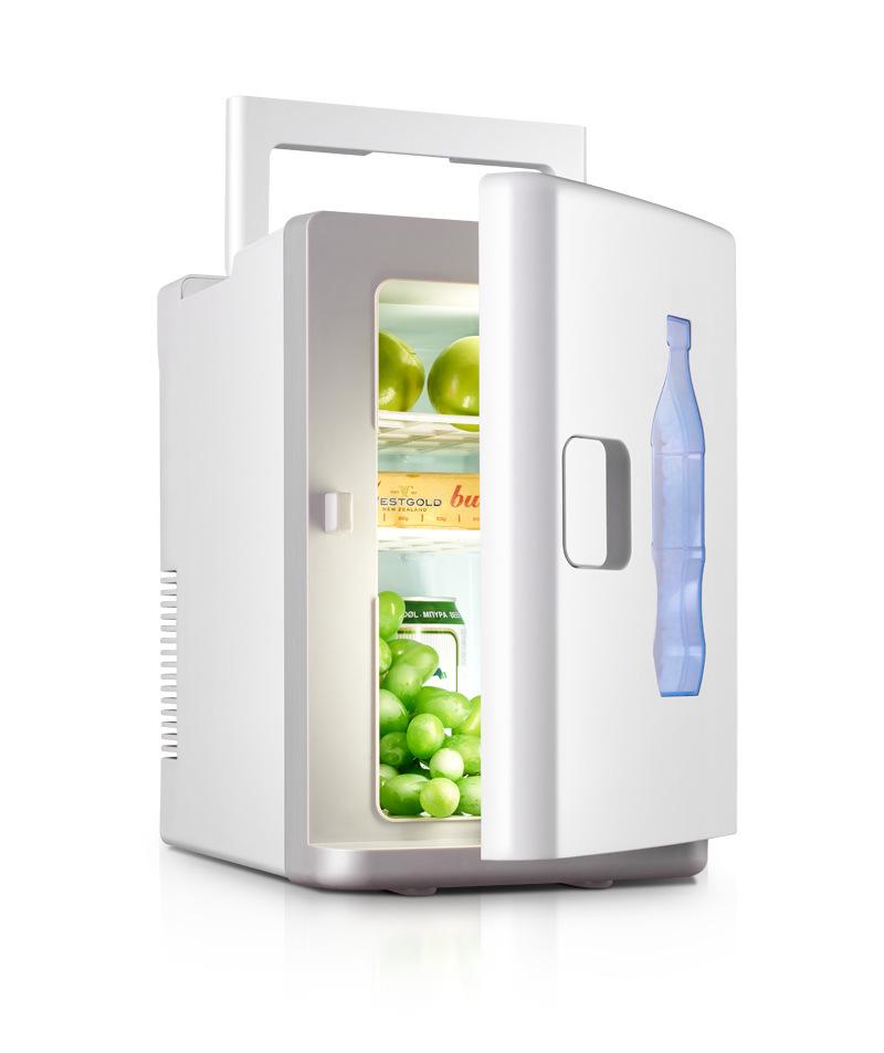 Langli Tủ lạnh 10L tủ lạnh cách nhiệt ô tô đơn tủ lạnh ký túc xá xe mini tủ lạnh nhỏ xe hơi nhà mục