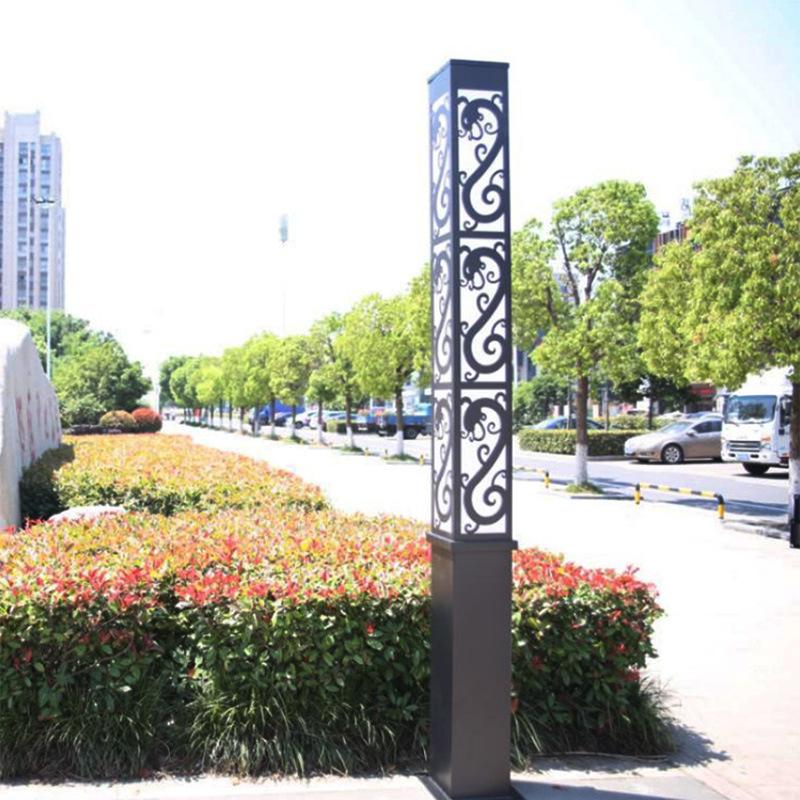 HUIWEN Đèn LED chiếu sáng công cộng Đèn LED vuông cảnh quan sân vườn vuông Trung Quốc không thấm nướ