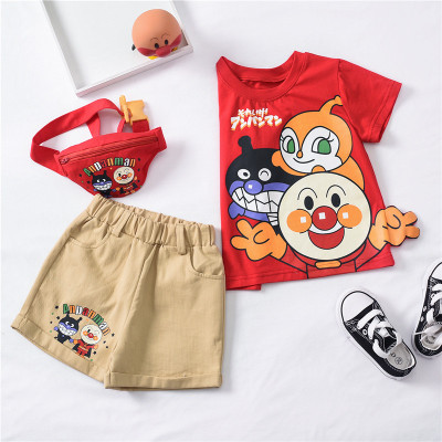 cocogirin Đồ Suits trẻ em Trong trang phục trẻ em mùa xuân và mùa hè, khuôn mặt trẻ em siêu ba mảnh,