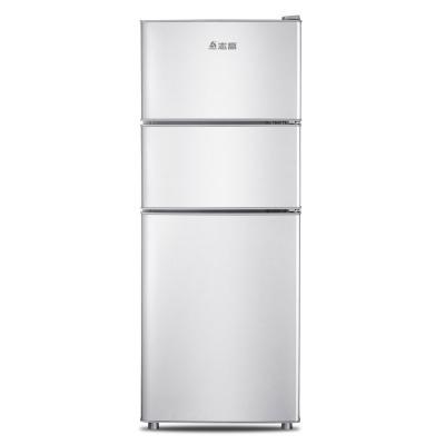 Chigo Điện gia dụng chính hãng 138 lít tủ lạnh nhỏ ba cửa tủ lạnh nhỏ hộ gia đình câm lạnh tủ lạnh