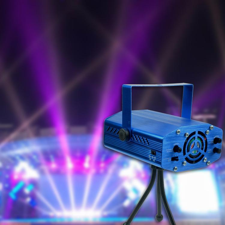 Đèn sân khấu Các nhà sản xuất quảng bá bằng giọng nói mini laser kích hoạt ánh sáng sân khấu KTV bầu