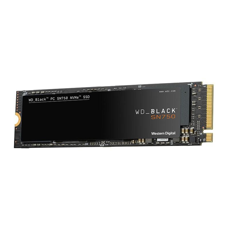 Ổ cứng SSD Sê-ri Đen SN750 Giao diện 250 / 500GBM.2 mới Giao thức NVMe Ổ đĩa thể rắn