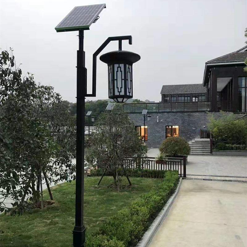 CHANGYUE Đèn LED chiếu sáng công cộng Năng lượng mặt trời sân vườn ngoài trời hiện đại cực cao không