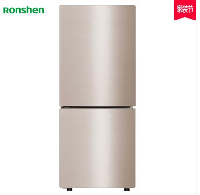 Ronshen Tủ lạnh BCD-172WD11D Tủ lạnh hai cửa nhỏ hai cửa Tủ lạnh giữ lạnh không có sương giá