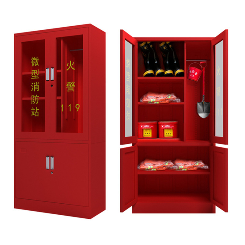 Zexin Thiết bị loa Moniter tủ chữa cháy tủ thiết bị lưu trữ tủ chữa cháy bình chữa cháy tủ lưu trữ t