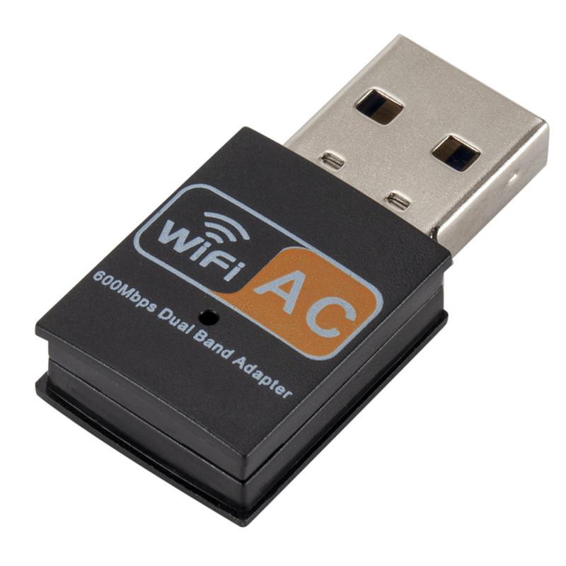 Card mạng không dây 5G bên ngoài USB /AC 600M tần số kép mini