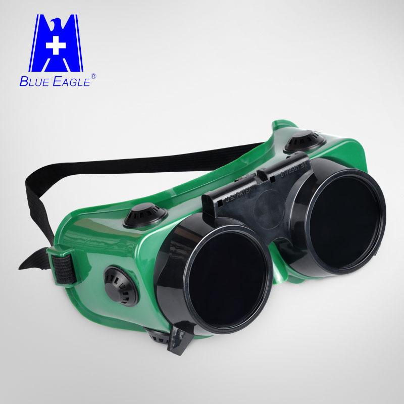 Kính hàn Hubei Lanying GW250, kính hàn nghiêng, kính cực tím chống chói