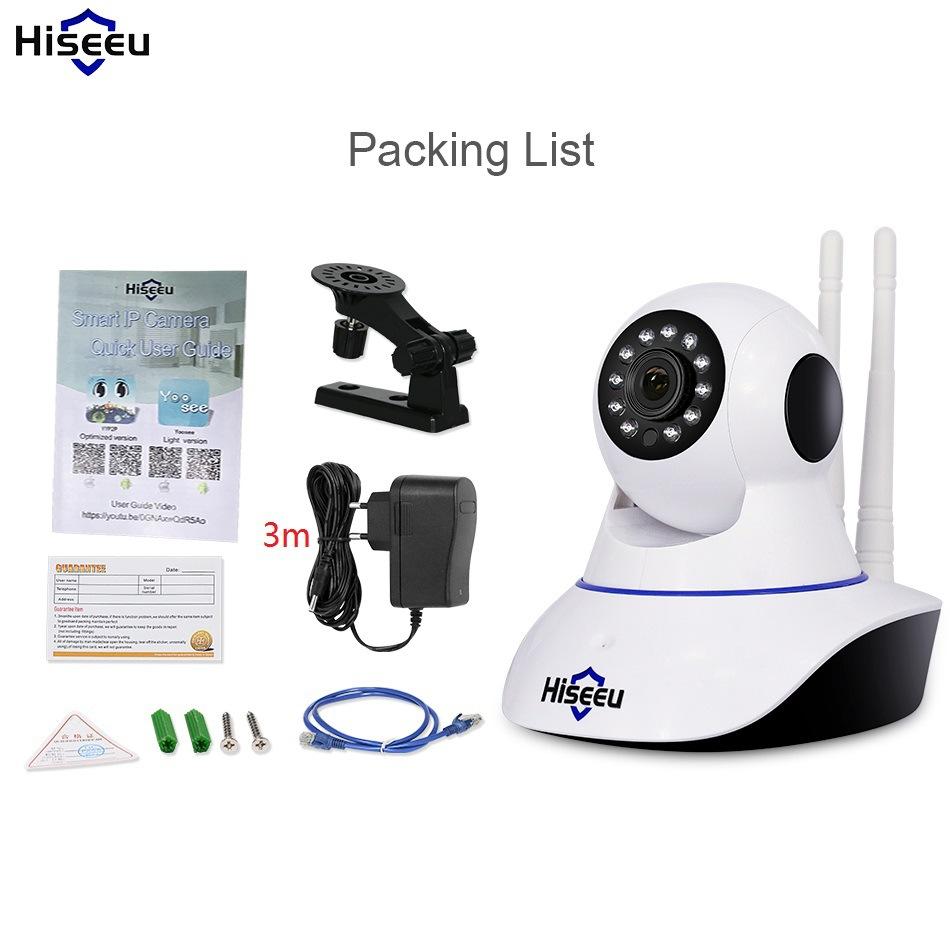 HAISHIYOU Camera giám sát không dây HiseeuWiFi điện thoại di động từ xa mạng thông minh Camera HD ca