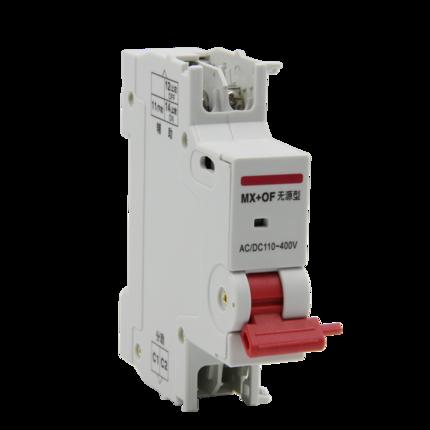 Delixi Thiết bị chống giật  điện MX + OF shunt loại thụ động + phát hành phụ trợ xử lý màu đỏ DZ47S