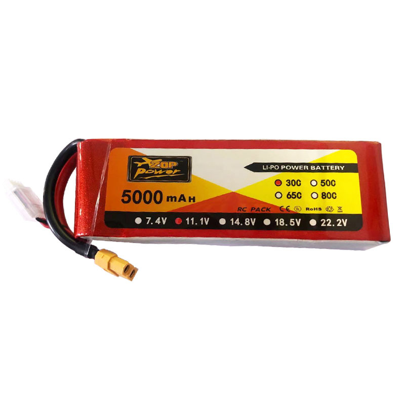 Pin Lithium-ion ZOP 3S5000mah11.1v30c .