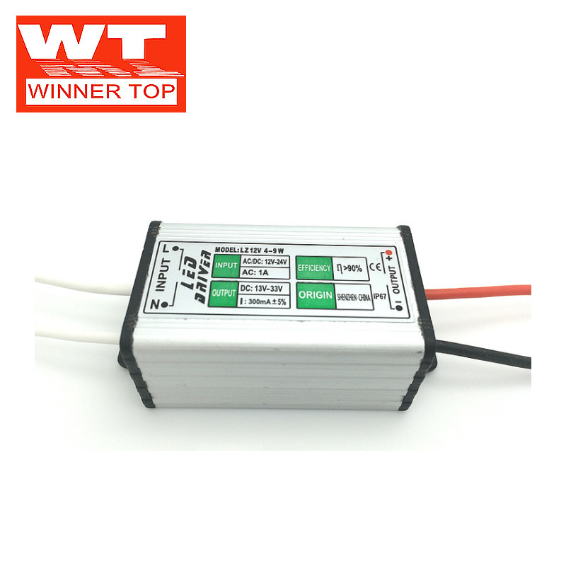Winnertop Bộ nguồn không đổi DC 12V 6W 7W 8W 9W LED tăng cường dòng điện liên tục cung cấp điện áp t