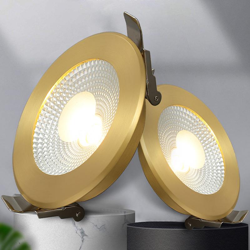 BOGE Đèn trần Bề mặt gắn đèn led led phòng khách tròn đèn trần nhà trần ánh sáng sang trọng spotligh