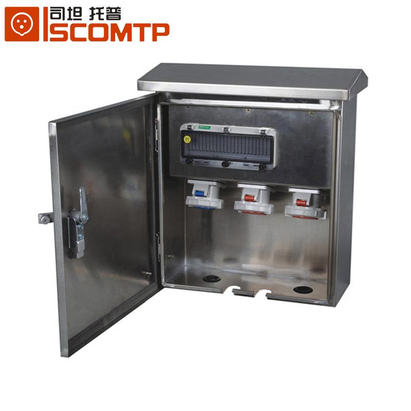 SCOMTP Hộp phân phối điện Bán buôn hộp phân phối tùy chỉnh 201 tủ điều khiển giám sát thép không gỉ