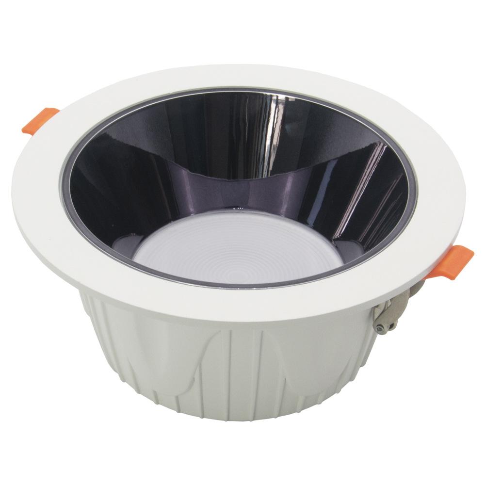 vỏ chụp đèn trần Vỏ đèn downlight công nghệ 6 inch chống chói sâu kit đúc đúc tích hợp đèn downlight