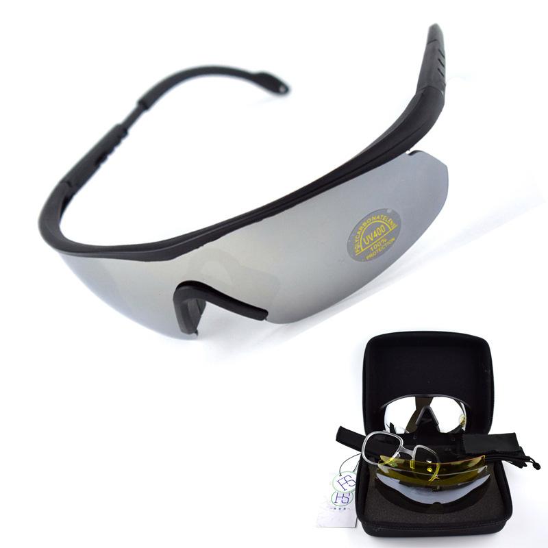 FS Kính bảo hộ Daisy chiến thuật quân đội Hoa Kỳ Kính râm kính bảo vệ kính C2 chống sốc CS thiết bị