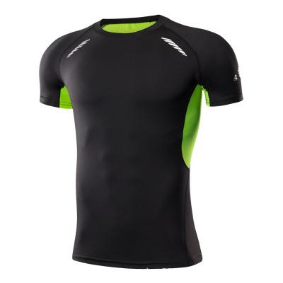 Áo thun mau khô Logo tùy chỉnh quần áo nhanh khô quần thể thao nam thấm mồ hôi kéo dài quần áo thể d