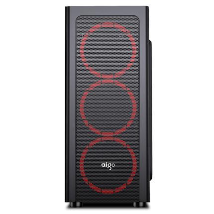 AIGO Thùng CPU / Patriot Máy chủ lưu trữ A16 Máy tính để bàn Máy tính Cung cấp năng lượng DIY Máy bê