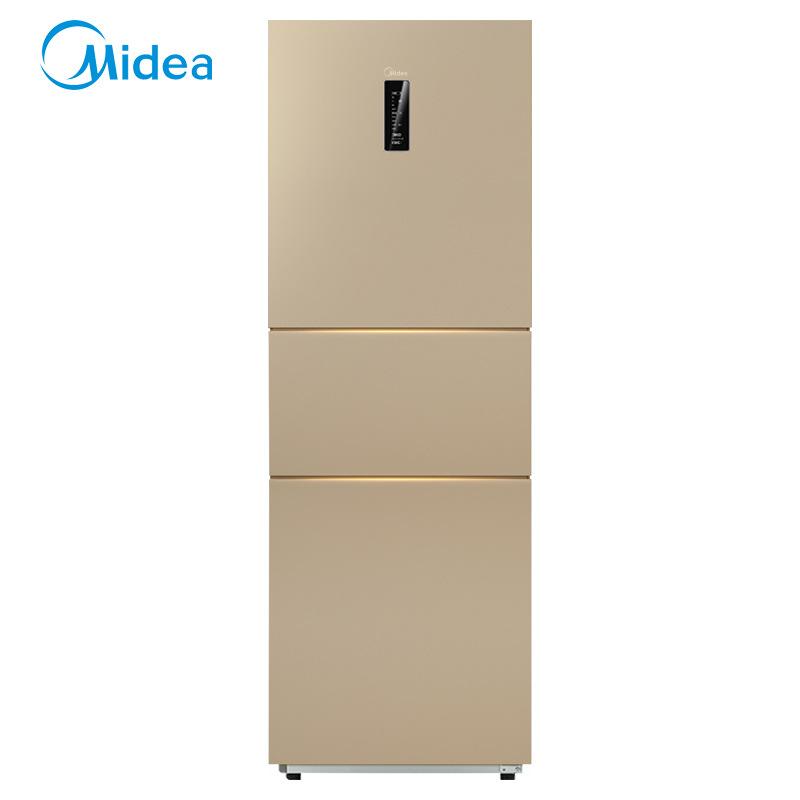 Midea Tủ lạnh Midea BCD-231WTM (E) Tủ lạnh ba cửa làm mát bằng không khí