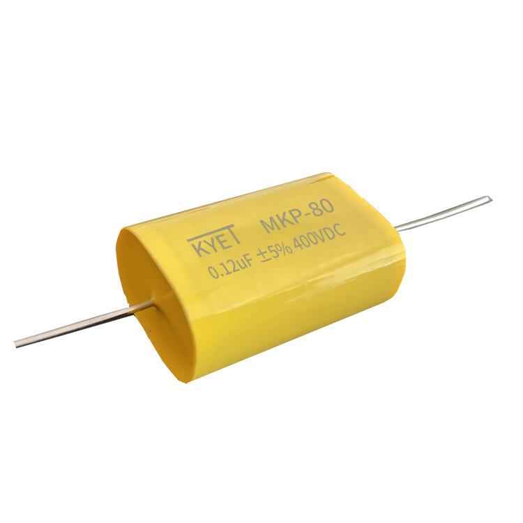 KYET Tụ điện mặt nạ CBB80 tại chỗ tụ điện siêu âm 2000V124J P30 0.12UF 124J2000V