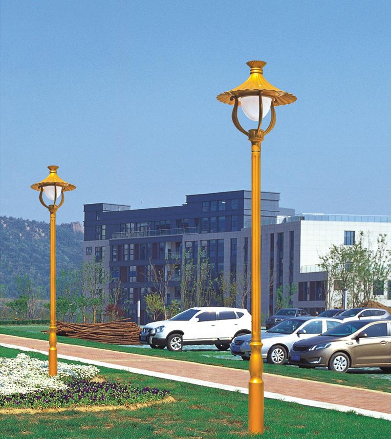 LIANGMEIXIN Đèn đường Nhà sản xuất tùy chỉnh 3 mét đèn sân vườn ngoài trời đèn cảnh quan công viên c