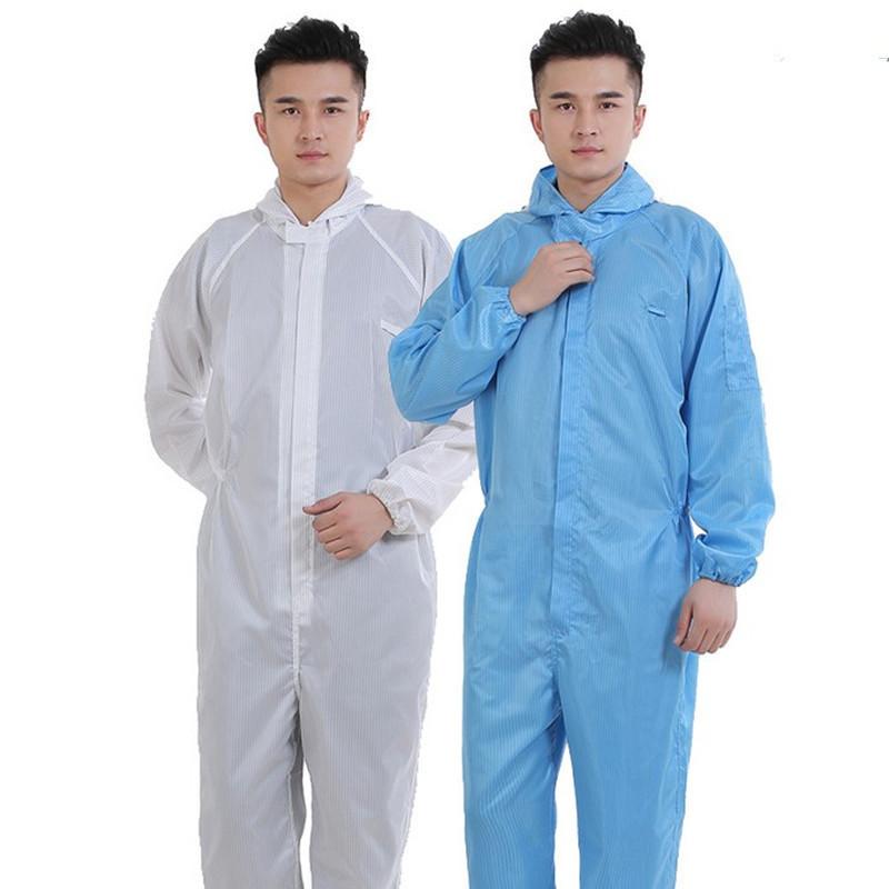 RUIHE Trang phục bảo hộ [Nhà máy trực tiếp] chống bụi quần áo chống tĩnh điện Xiêm quần áo chống tĩn