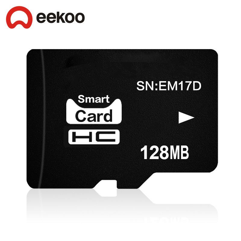 Thẻ nhớ lưu trữ TF (micro-SD) Dung lượng: 128MB