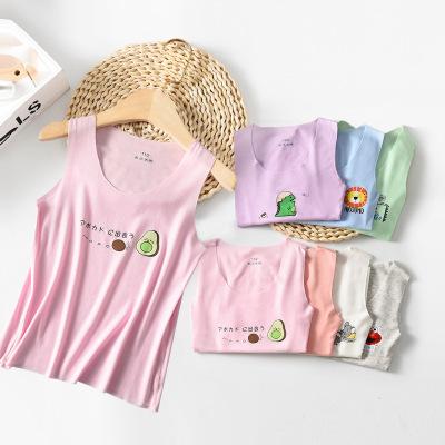 Áo ba lỗ  / Áo hai dây trẻ em Mùa hè 2020 quần áo trẻ em trẻ em mới phương thức vest nam liền mạch k