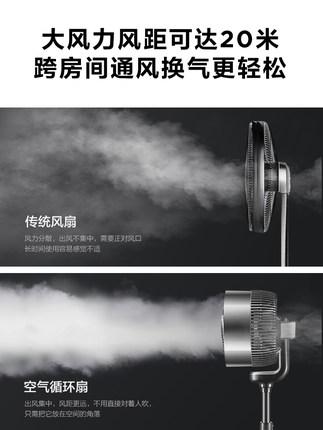 Airmate Quạt máy  quạt lưu thông không khí tuabin đối lưu quạt điện sàn không lá bàn nhà dọc quạt đi