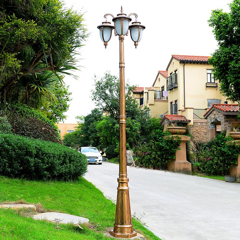 JUNMA Đèn LED chiếu sáng công cộng Nhà máy trực tiếp theo phong cách châu Âu đèn sân vườn Biệt thự c
