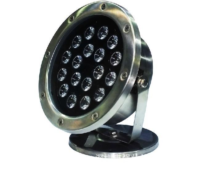 Đèn LED dưới nước mới 36W đổi màu sặc sỡ RGB bằng thép không gỉ