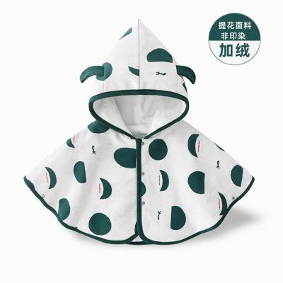 ANBLOO Áo choàng trẻ em Quần áo trẻ sơ sinh và trẻ em chấm lớn áo choàng trẻ em