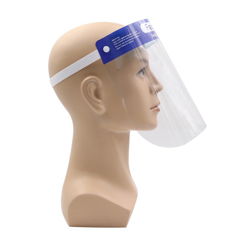 MINGCHUANG Thị trường bảo hộ lao động Nhà máy trực tiếp mặt nạ bảo vệ PET chống xịt mặt nạ bảo vệ