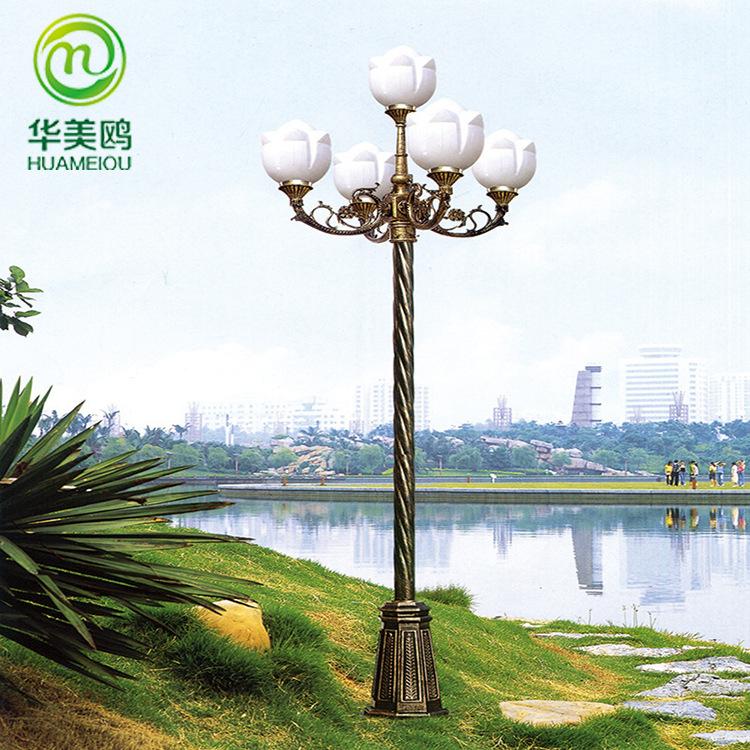 HUAMEIOU Đèn LED chiếu sáng công cộng Đèn LED sân vườn tiết kiệm năng lượng, đèn cảnh quan, đèn sân
