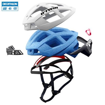 Mũ bảo hiểm khi đi xe đạp Decathlon Nhẹ và thoáng khí