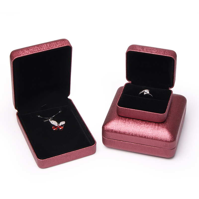 HONGHAI Hộp quà tặng Quà tặng hộp trang sức tùy chỉnh vòng đeo tay mặt dây chuyền vòng cổ vòng trang
