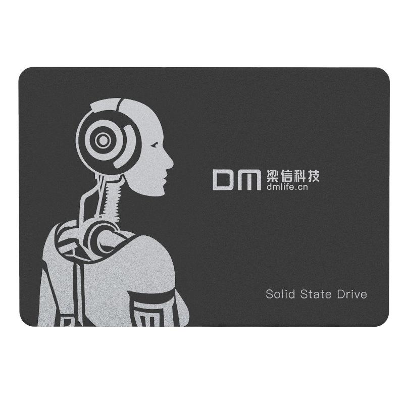 DM Ổ cứng SSD SSD trạng thái rắn ổ cứng SATA3 tốc độ cao đọc siêu mỏng nhiệt độ thấp 128g 256g ổ cứn