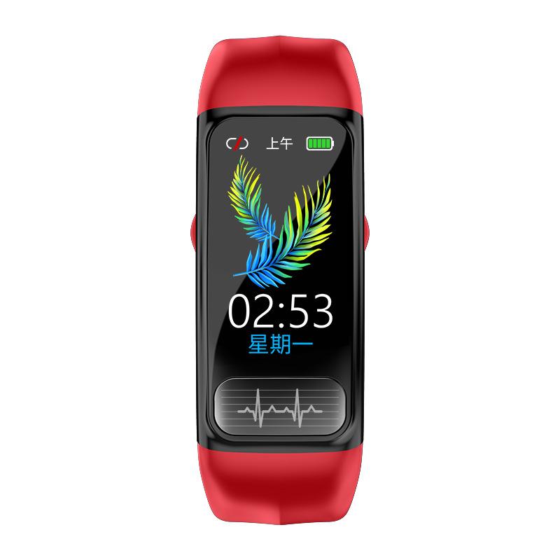MAFAM Vòng đeo tay thông minh P12 Dải thể thao thông minh PPG + ECG ECG Theo dõi huyết áp Thông tin