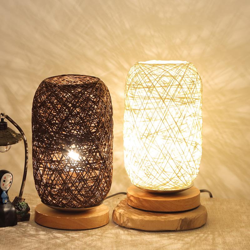DENGYI Đèn trang trì Phòng ngủ xuyên biên giới trang trí đầu giường sáng tạo mờ LED đêm ánh sáng rắn