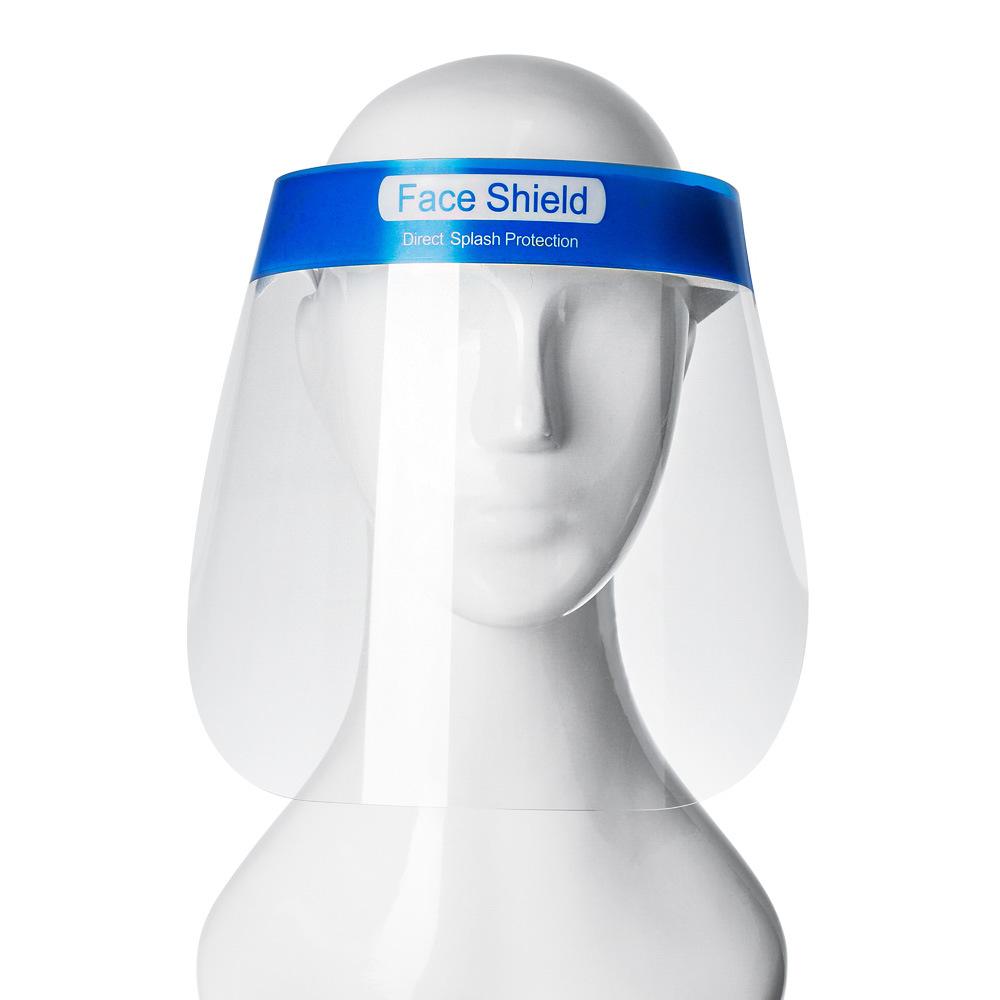 Thị trường bảo hộ lao động Mặt nạ chống xịt PET dùng một lần, mặt nạ trong suốt bảo vệ cá nhân, nấu
