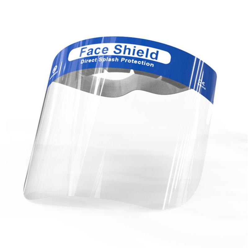 RK Thị trường bảo hộ lao động PET bảo vệ mặt bảo vệ mặt nạ chống phun bảo vệ cá nhân trong suốt mặt