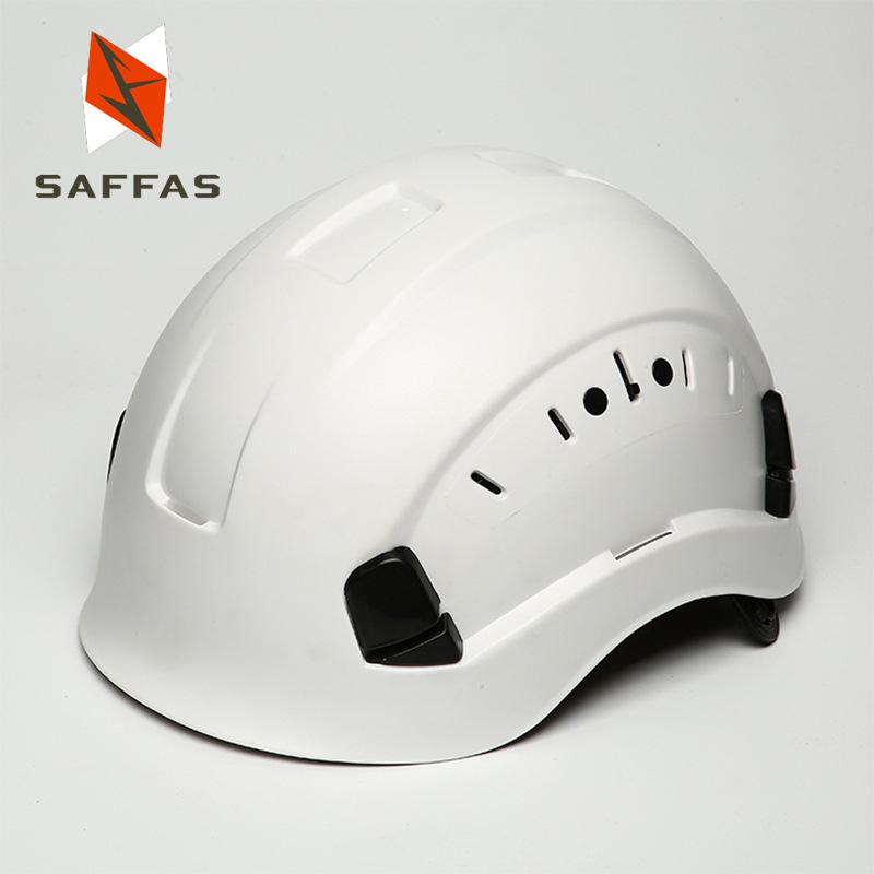 Mũ bảo hộ an toàn khi làm việc ngoài trời .