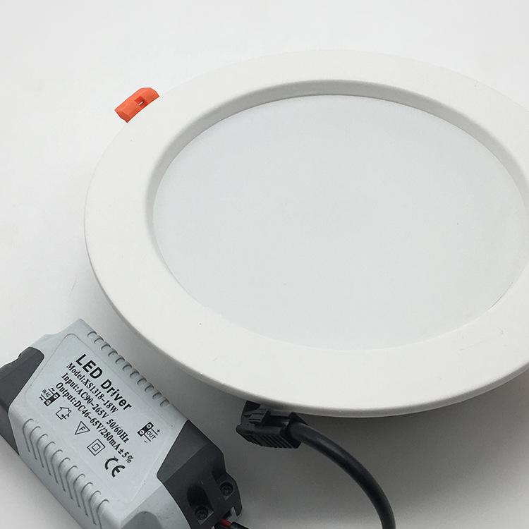 HUANHUI vỏ chụp đèn trần 8 inch die-cast downlight nhà ở kỹ thuật loạt loạt mô hình phun chết đúc do