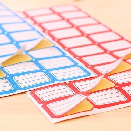 Zhengcai Giấy note  120 tờ giấy tự dính nhãn dán nhãn dán giá nhãn giá nhỏ nhãn dán hình chữ nhật ta